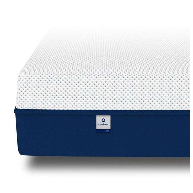 AS2-TXL Amerisleep AS2 Back/Stomach Sleeper Medium Firm Memory Foam Mattress, Twin XL 2