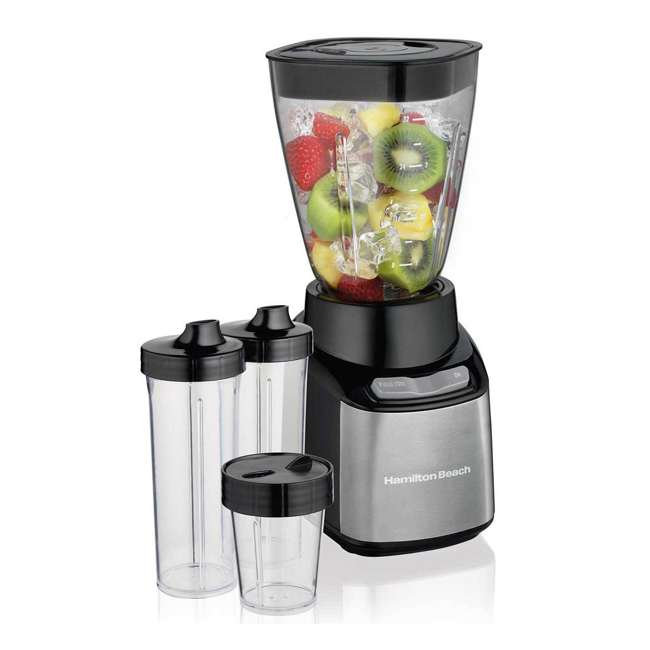 45400 + 52400 Hamilton Beach 12 Cup Coffee Maker w/ Smoothie Mixer 2