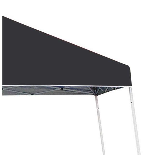 ZSB10INSTBK-PB-U-A Z-Shade 10' x 10' Angled Leg Instant Shade Canopy Tent Shelter, Black (Open Box) 3