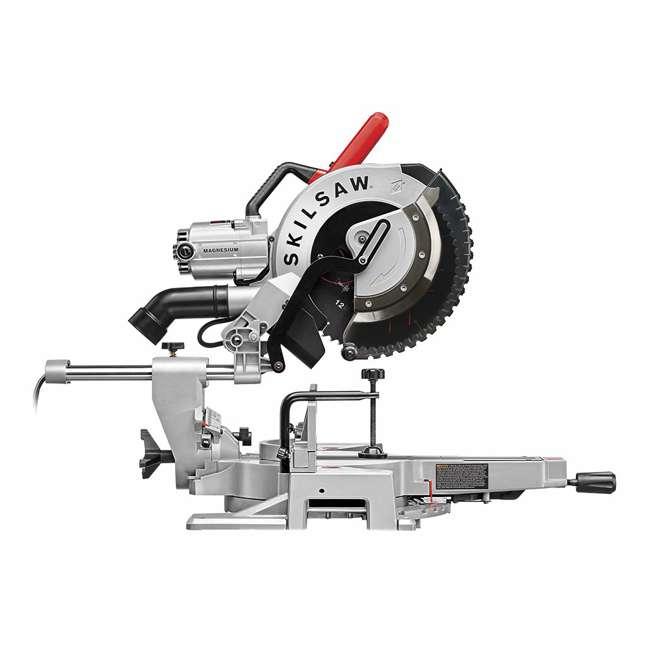 SPT88-01 SKILSAW SPT88-01 12 Inch Blade 15 Amp Worm Drive Dual Bevel Sliding Miter Saw 2
