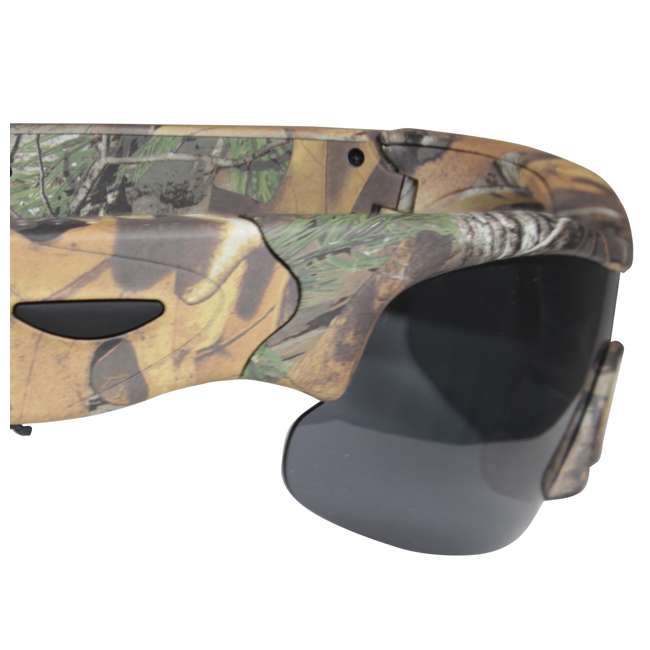 MCG-13039 Moultrie Hunting Fishing Camo Glasses w/ Built-in Video Camera | MCA-13039 3
