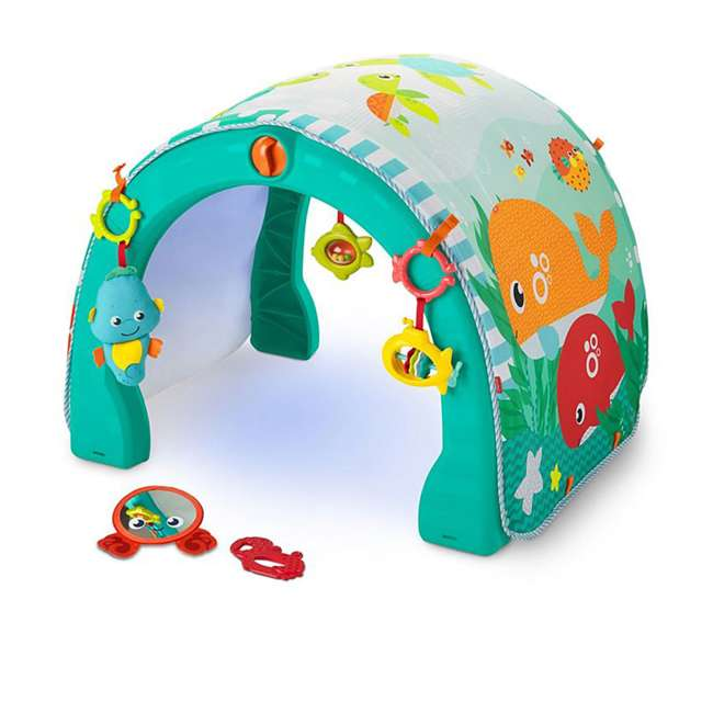 FXT05 Fisher Price 4 in 1 Ocean Infant to Toddler Baby Activity & Learning Play Center 1
