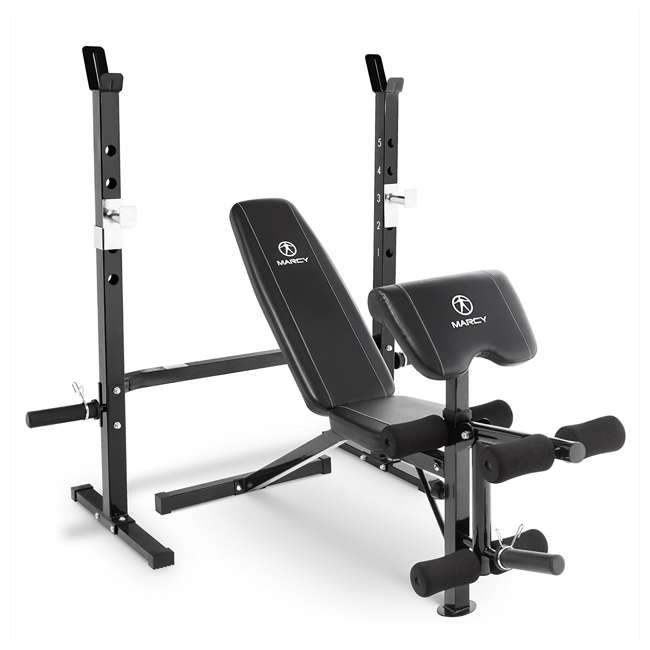 Marcy Olympic Weight Bench for Legs, Arms, & Full Body Workout