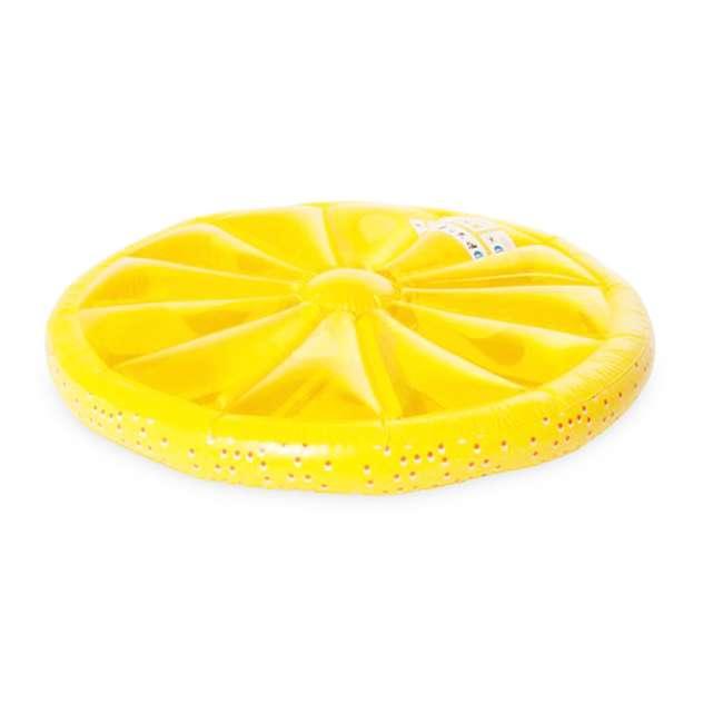 9054O + 9054Y Swimline 60-Inch Inflatable Orange & Lemon Slice Float 2