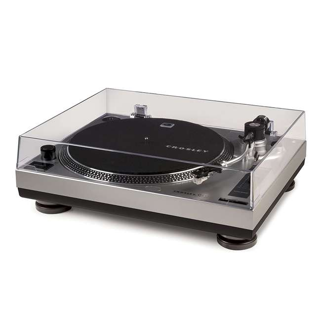 C100A-SI Crosley C100 2-Speed Preamp Record Player Turntable