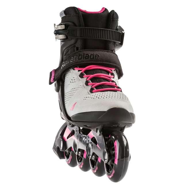 7955300500-6 + 06320200001-M + 067H0310800-L Rollerblade USA Women's Size 6 Rollerblades + Pads + Helmet 4