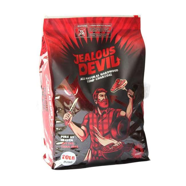 JD-20-LBS Jealous Devil 100% Natural Hardwood Lump Charcoal Quebracho Blanco - Restaurant Quality 20-Pounds