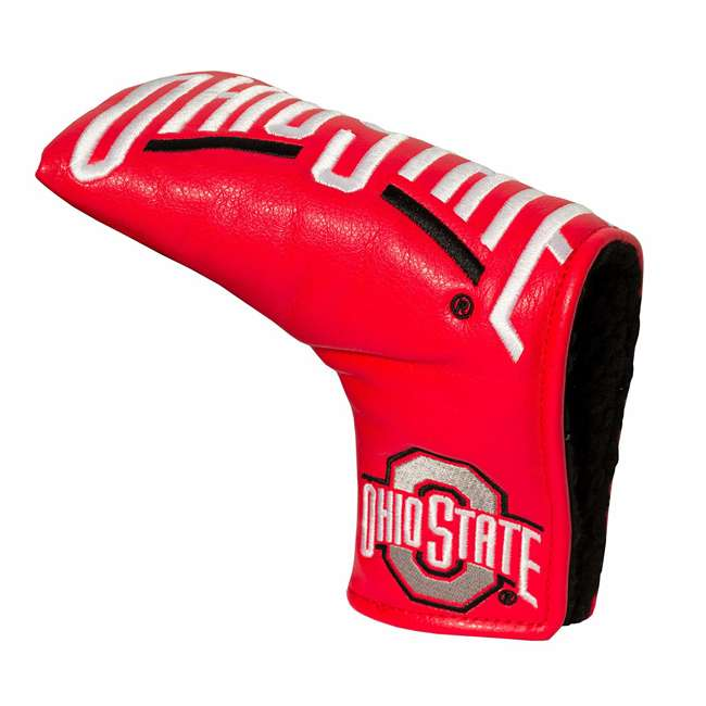 22850 Team Golf USA NCAA Ohio State Buckeyes Vintage Blade College Putter Cover, Red