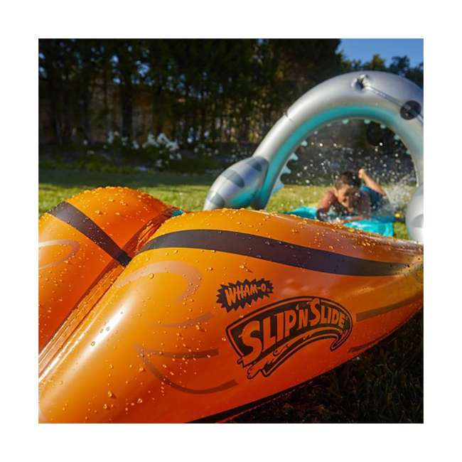WMO-64762 Wham-O 16-Foot Mega Shark Slip-N-Slide Outdoor Water Slide Toy 4