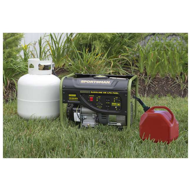 BFT-GEN4000DF Sportsman GEN2000DF 4000 Watt Portable Dual Fuel Generator, Black 5