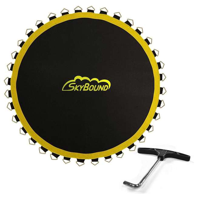 M1-147214700GS SkyBound Premium 147 Inch Replacement Mat for 14 Foot Trampolines w/ 72 V Rings