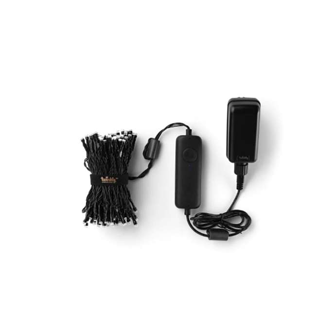 TWS150STP-BUS Twinkly Smart Decorations Custom 150 Bulb LED RGB App-Controlled String Lights 1