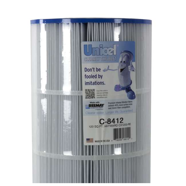 6 x C8412 Unicel C-8412 Replacement Pool Filter Cartridge (6 Pack) 2