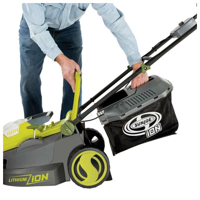SUJ-ION16LM-RB Cordless Electric Lawn Mower (Certified Refurbished) 5