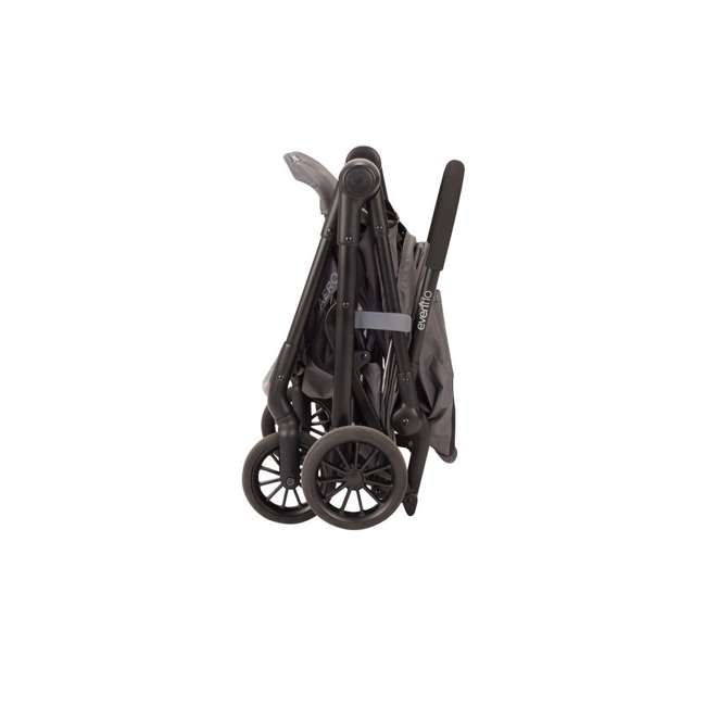 19142265 Evenflo Sibby Stroller Travel System with Folding Design and Storage, Charcoal 2