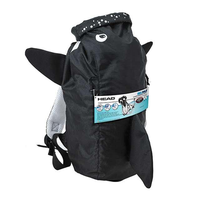 480315-SFORCLXL-U-B HEAD Sea Pals Jr. Kid's Orca Snorkeling Swim Set, Large/Extra Large (Used) 2