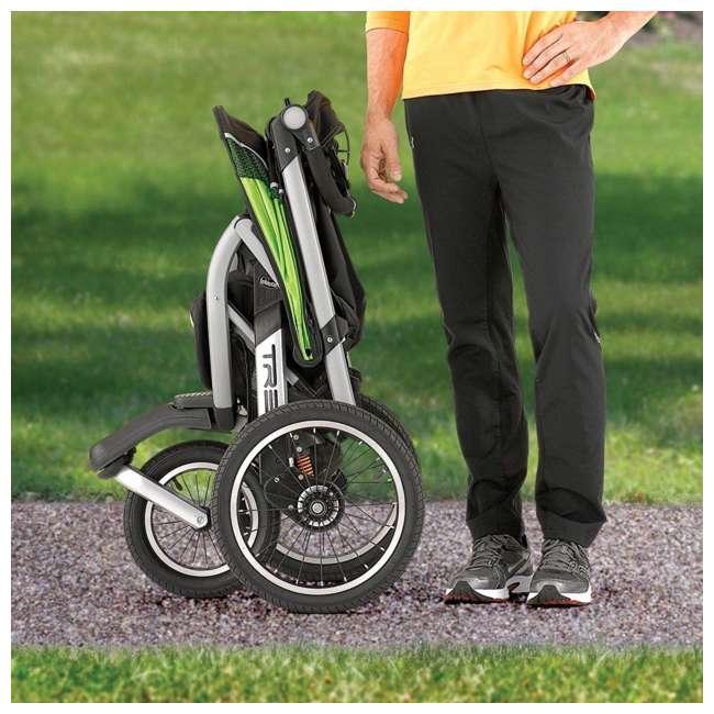 CHI-0707910384-OB Chicco TRE Lightweight Jogging Stroller, Titan (Open Box) 2