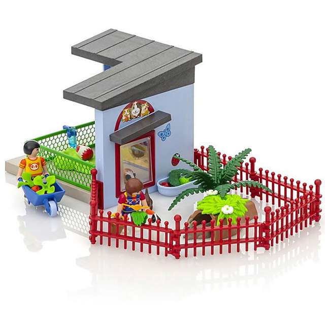 PLAY-9277 Playmobil Small Animal Boarding Building Kids Educational Toy Set & Figurines