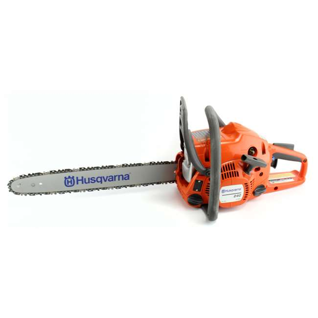 Husqvarna 240 husqvarna gas powered chainsaw refurbished greentooth Images