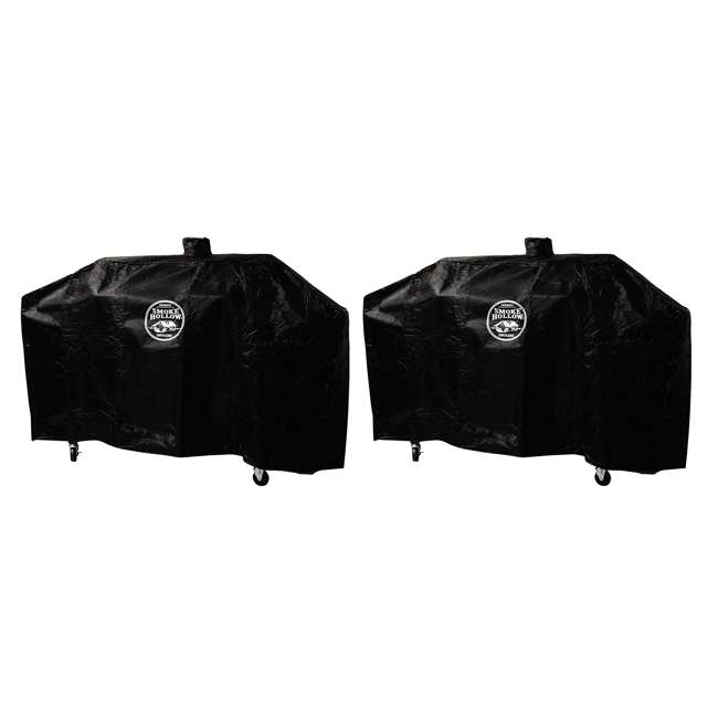 "SH-GC1000 Smoke Hollow Weather Resistant Polyester Heavy Duty 65-70"" Grill Cover (2 Pack)"