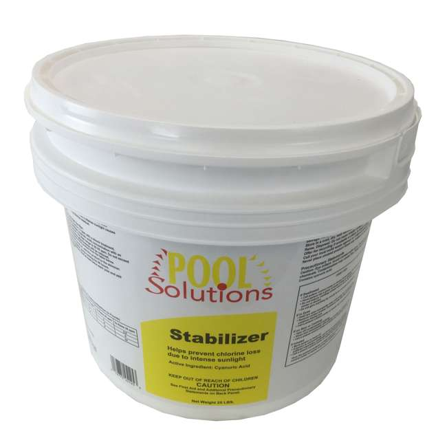 Pool Solutions Swimming Pool 25lb Chlorine Stabilizer