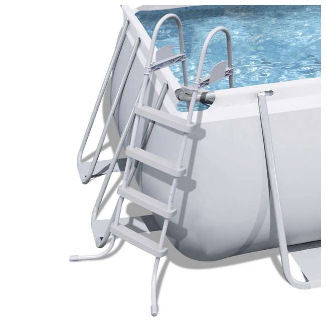 56536E-BW + 2 x 58012E-BW Bestway Above Ground Pool w/Ladder, Pump, and Cartridges (2 Pack) 4