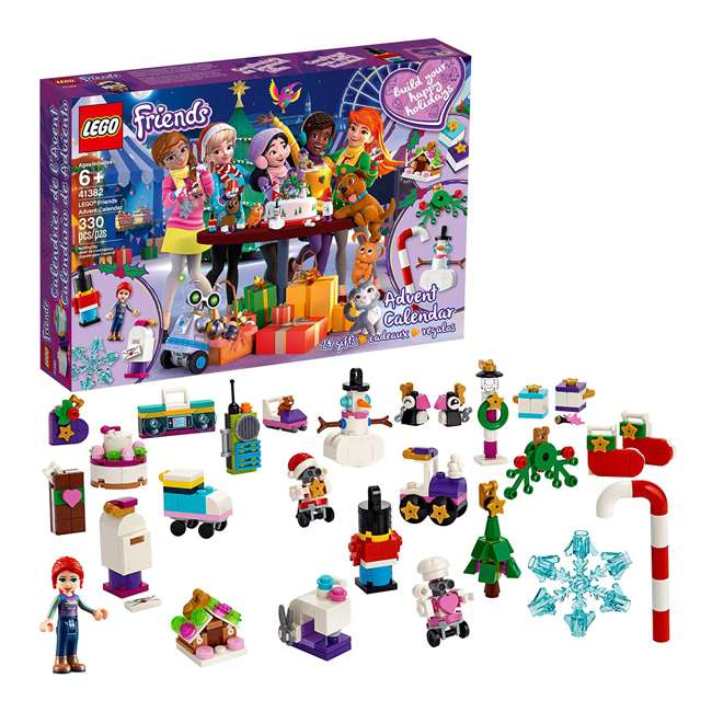6251675 LEGO Friends 41382 2019 Advent Calendar Building Kit w/ 1 Mia Mini-Doll Figure