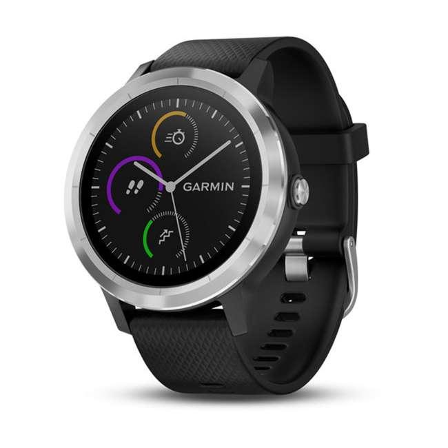 010-01769-01 Garmin Vívoactive 3 Active Smartwatch, Black with Silver 7