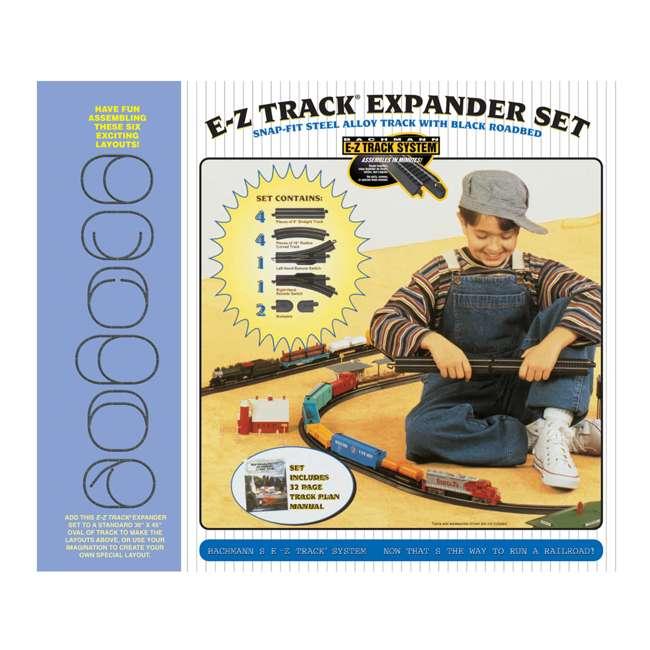 44494 Bachmann Trains 12-Piece HO Steel Alloy E-Z Track Layout Expander Set (Open Box) 1