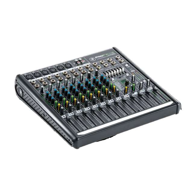 ProFX12v2-OB Mackie ProFX12v2 Focused Live Sound 12 Channel Effects Mixer with 6 Preamps 1