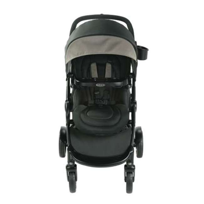2082702 Graco Modes2Grow Infant to Toddler 4 in 1 Convertible Baby Stroller, Haven Gray 1