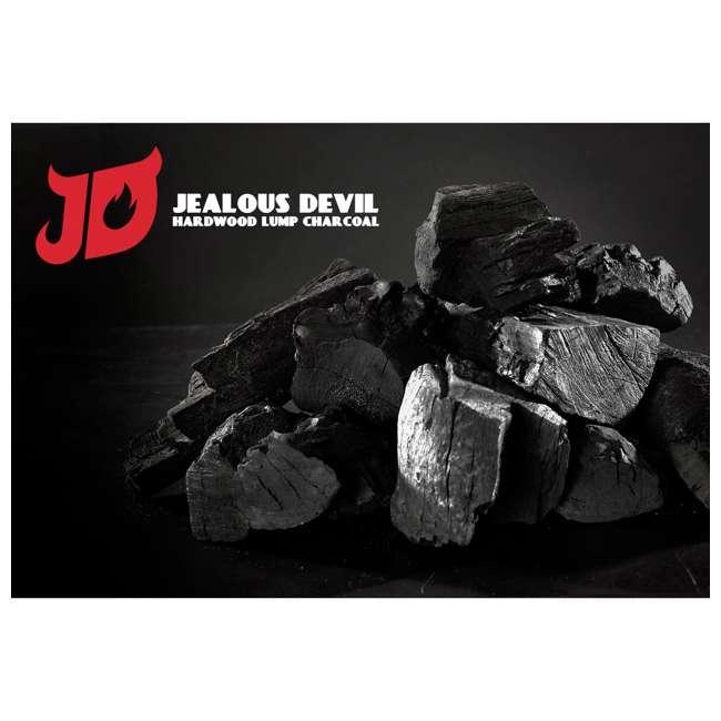 JD-20-LBS Jealous Devil 100% Natural Hardwood Lump Charcoal Quebracho Blanco - Restaurant Quality 20-Pounds 3