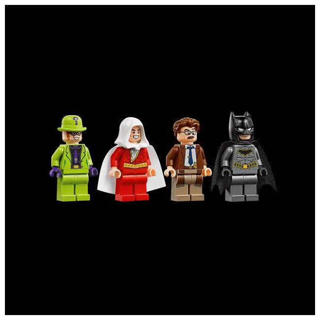 6251469 LEGO DC Batman 76120 Batwing and The Riddler Heist Building Set w/ 4 Minifigures 2