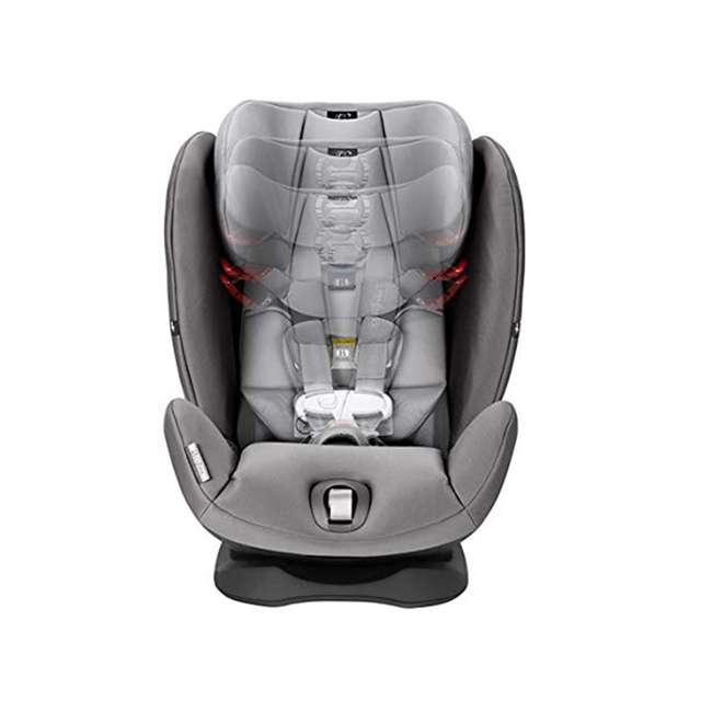 518002873 Cybex Gold Eternis S All in 1 Convertible Infant Baby Car Seat, Lavastone Black 2