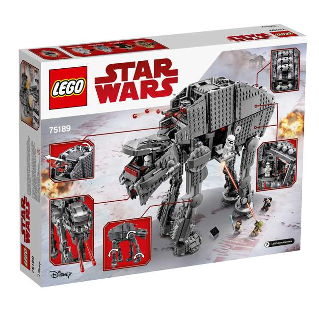 6224296 LEGO Star Wars First Order Heavy Assault Walker Building Kit with 5 Minifigures 4