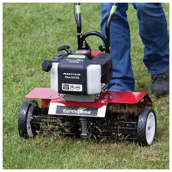EARTH-DK43-U-C Earthquake DK43 Lawn Grass Dethatcher Kit for Mini Cultivator Tiller (For Parts) 2