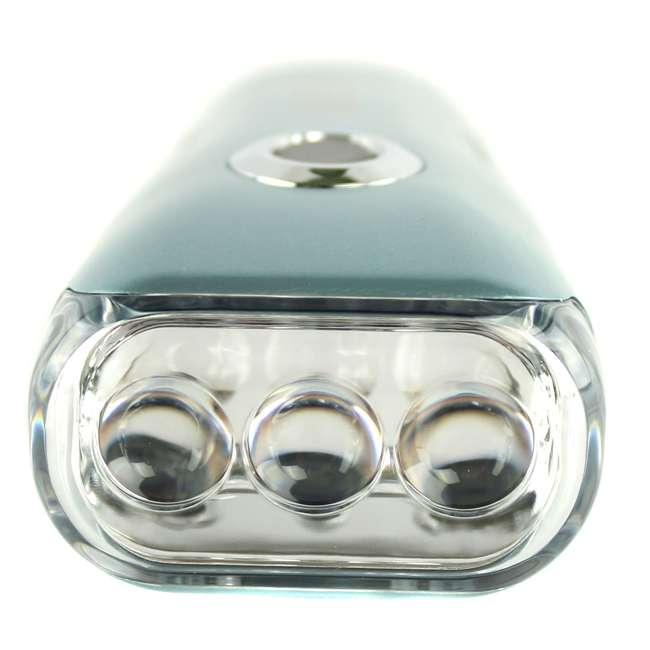 New Super Bright Snap On Led Garage Work Light 2000: Garrity K023G 3 Led Super Bright Crank Rechargeable