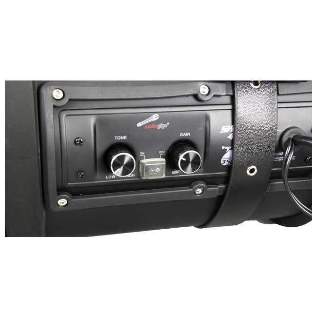 Audiopipe Atvp 3000 Atv Marine Dual 8 Inch Speaker System