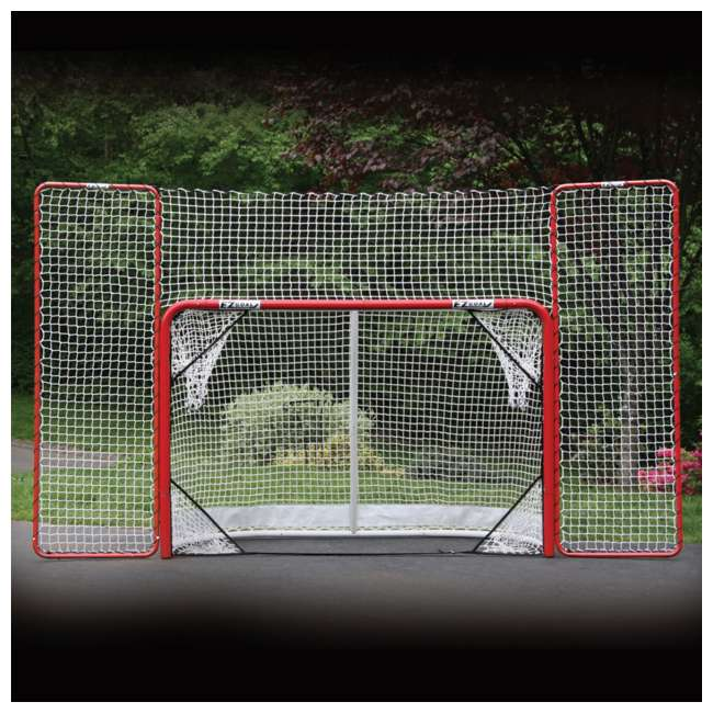 NEOP-67008 EZ Goal Portable Folding Regulation Size Hockey Training Goal Net with Backstop 5