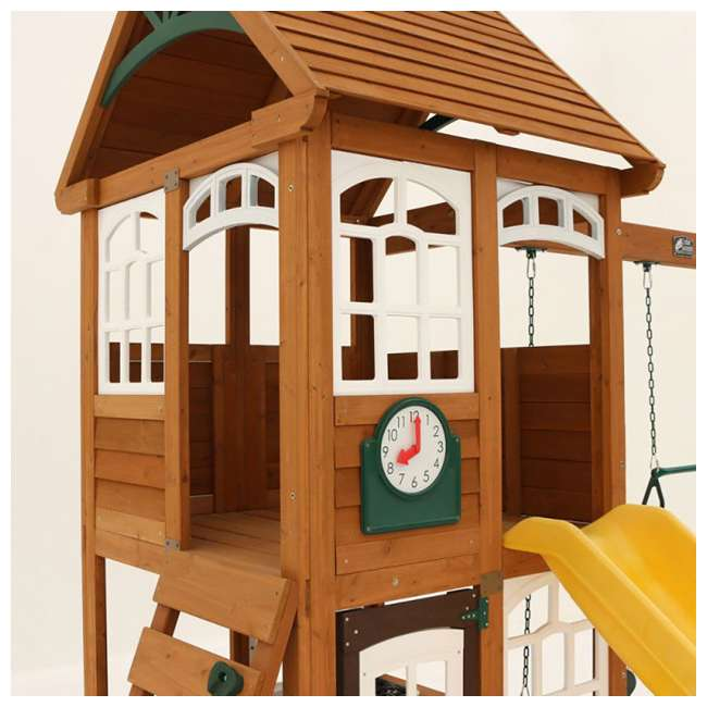 F24950 KidKraft F24953 McKinley Kids Wooden Outdoor Playset 7