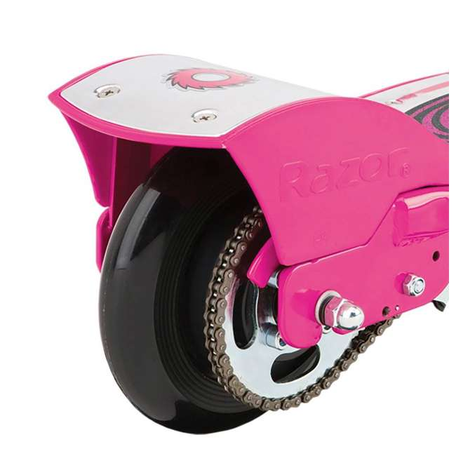 13113640 + 13111269 Razor Electric Motorized Scooters, 1 Blue & 1 Pink 11