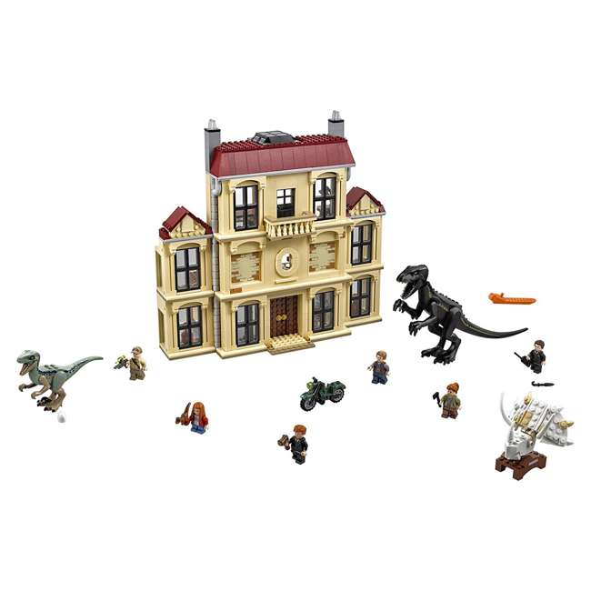 6212620-U-B LEGO Jurassic World Indoraptor Rampage at Lockwood Estate Build Kit (Used)