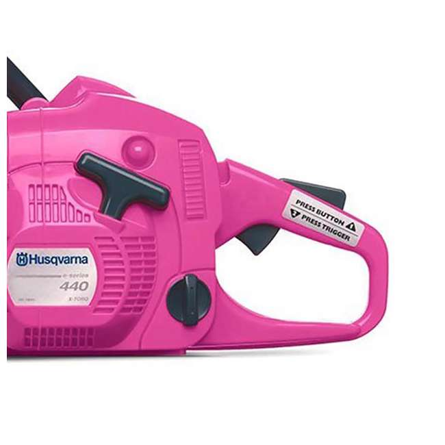 HV-TOY-588883201 Husqvarna Limited Edition Pink Toy Chainsaw 2