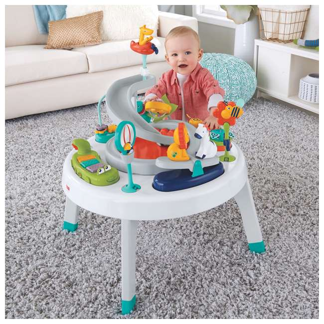 FFJ01 2-in-1 Sit-to-Stand Activity Center 2