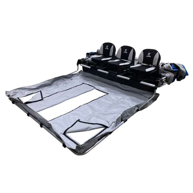 CLAM-14513 Clam 14513 Removable Floor for X300 Pro Thermal Fish Trap Ice Fishing Tents 1