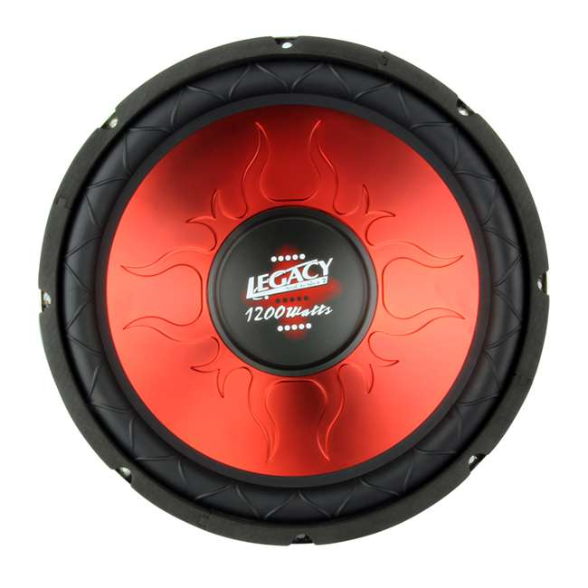 LW1249 Legacy Red Series LW1249 12-Inch Subwoofer 2