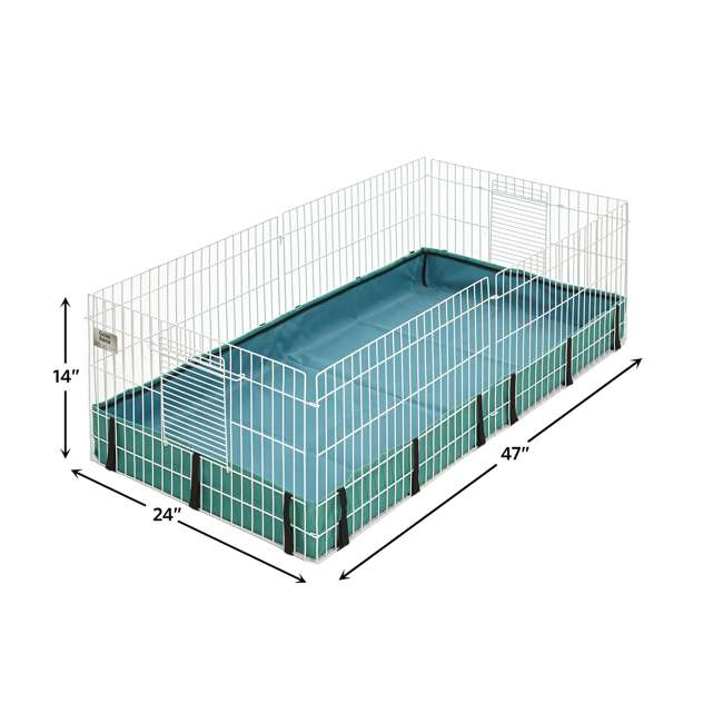 171GH MidWest Homes for Pets Compact Guinea Pig Habitat Cage w/ 8 Square Feet of Area 1