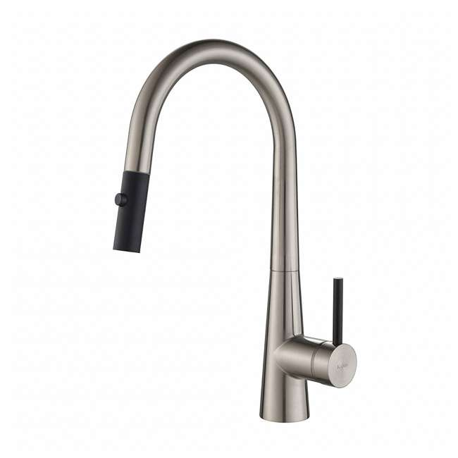 KPF-2720SS-OB Kraus Crespo 16.25-Inch Single Handle Faucet, Stainless Steel (Open Box)