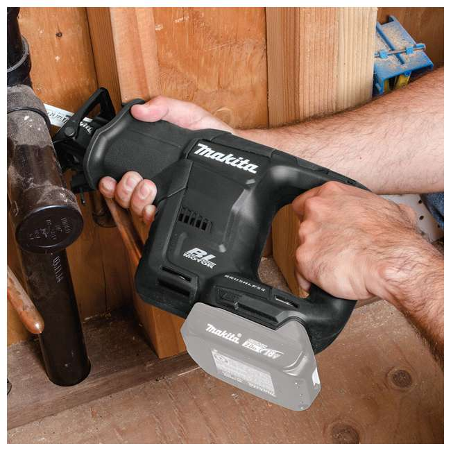 XRJ07ZB Makita XRJ07ZB 18 Volt Battery Powered Brushless Cordless Reciprocating Saw 3