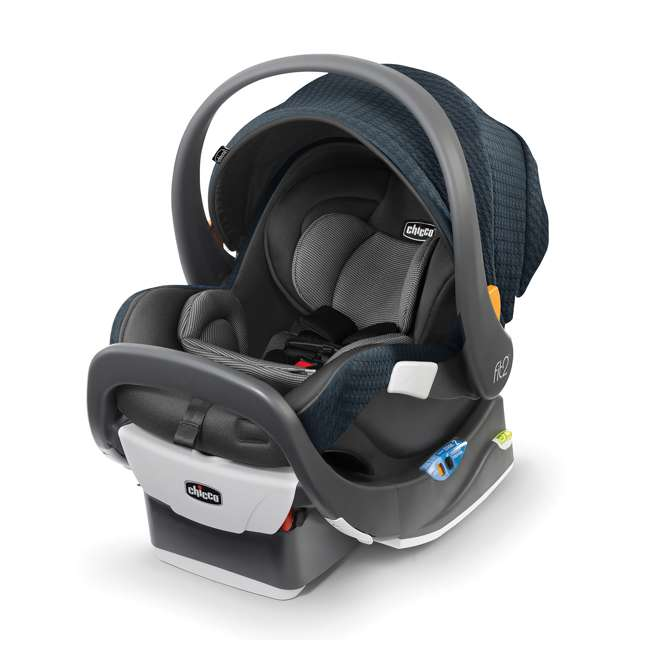CHI-0407977128 Chicco Fit2 Infant/Toddler Rear Facing Car Seat w/ 2 Stage Base, Tullio Blue